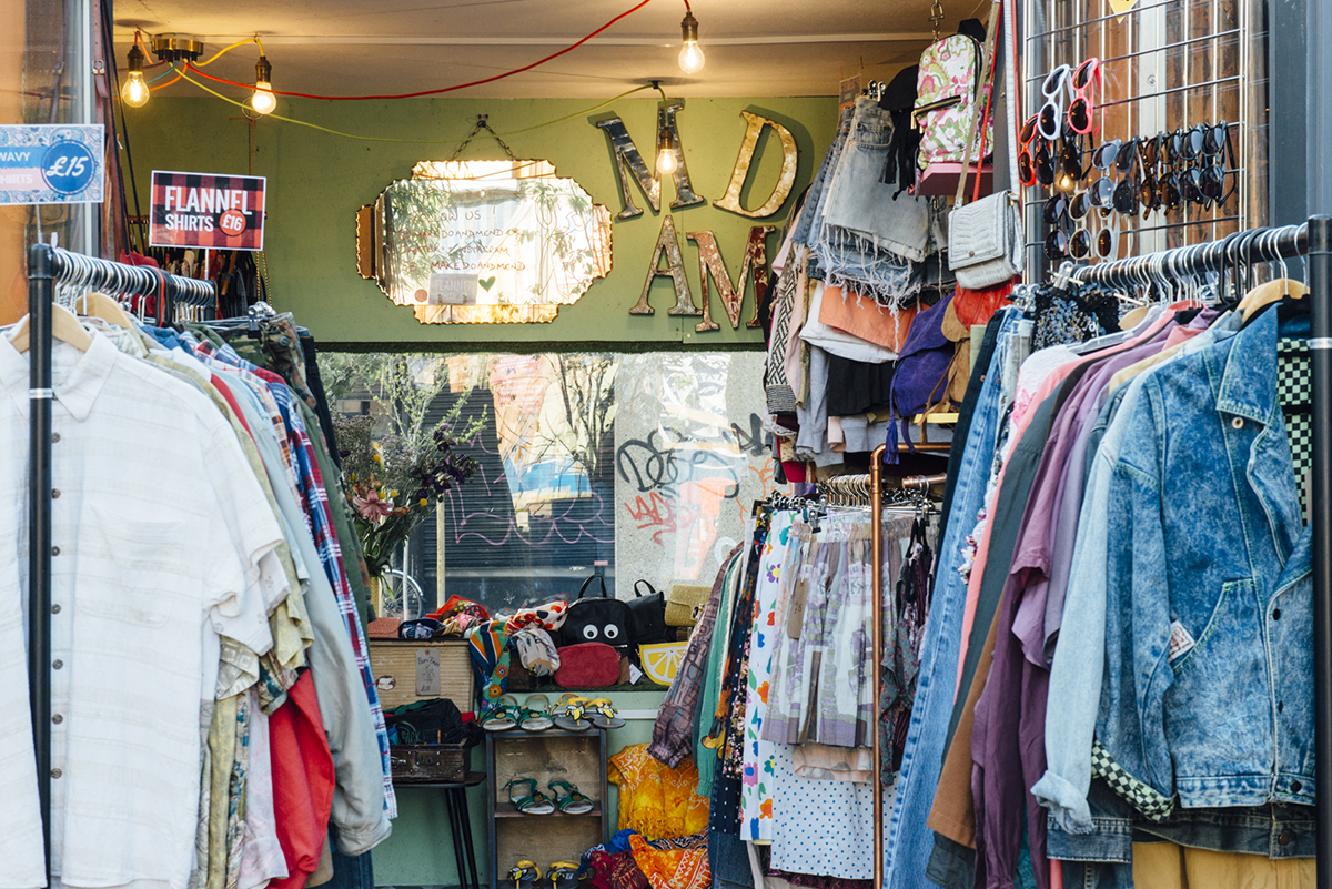 Make Do And Mend Vintage Fashion Boutique In Brixton